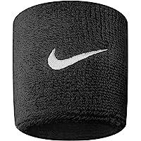 Nike - Puños en Color Negro (2 Unidades)