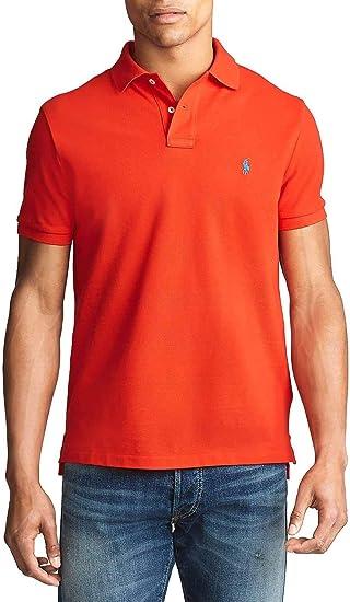 Polo Ralph Lauren Basic Rojo para Hombre x-Large Rojo: Amazon.es ...