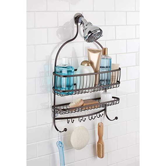 Amazon.com: Cuarto de baño ducha Caddy InterDesign ...
