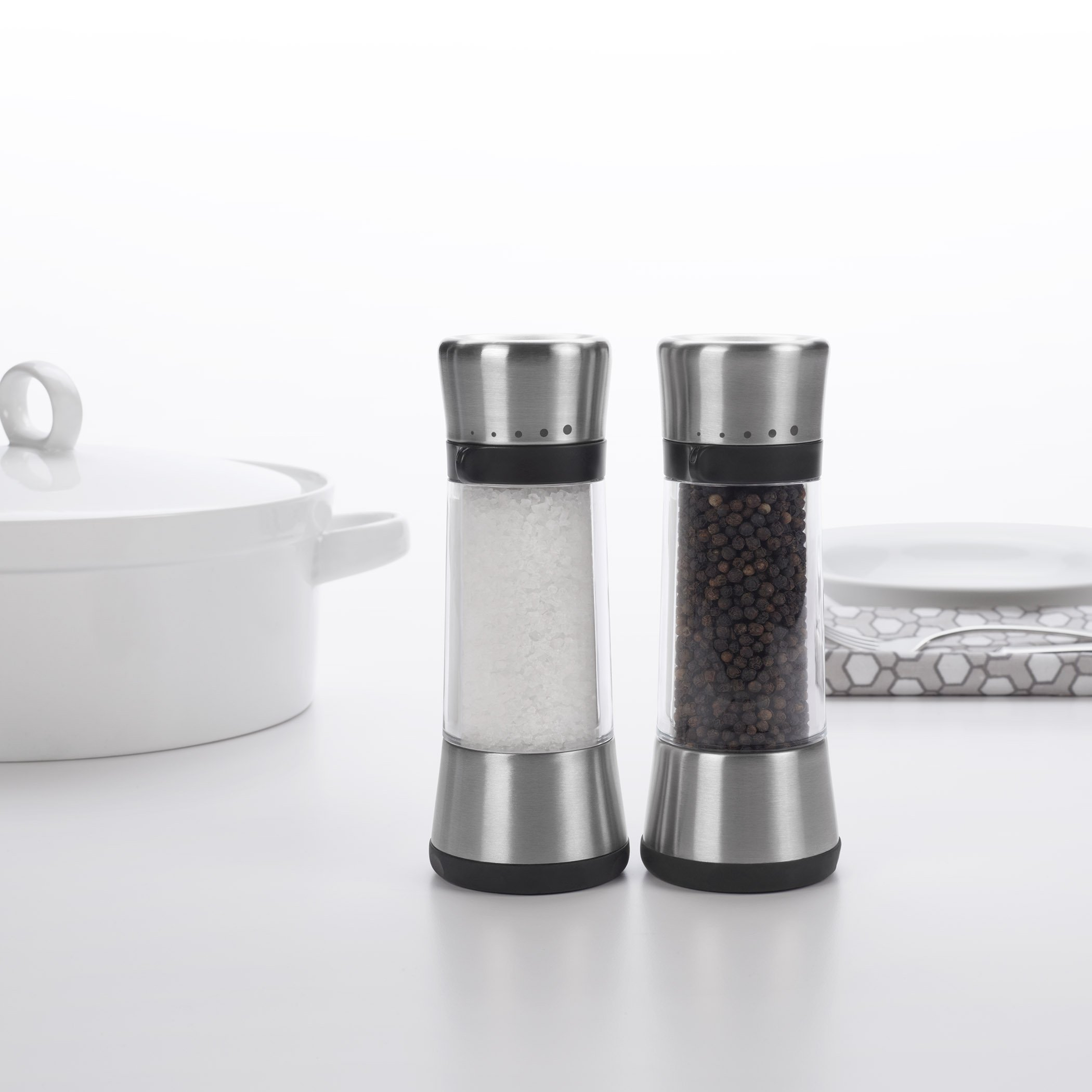 OXO Good Grips Lua Salt Mill with Adjustable Grind Size by OXO (Image #6)