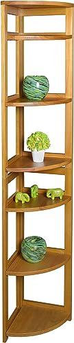 Regency Flip Flop 67-inch High Corner Folding Bookcase