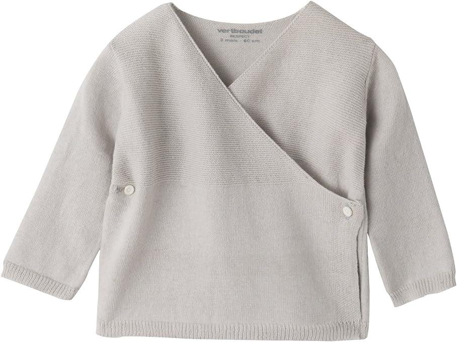 VERTBAUDET Brassi/ère b/éb/é en coton et laine