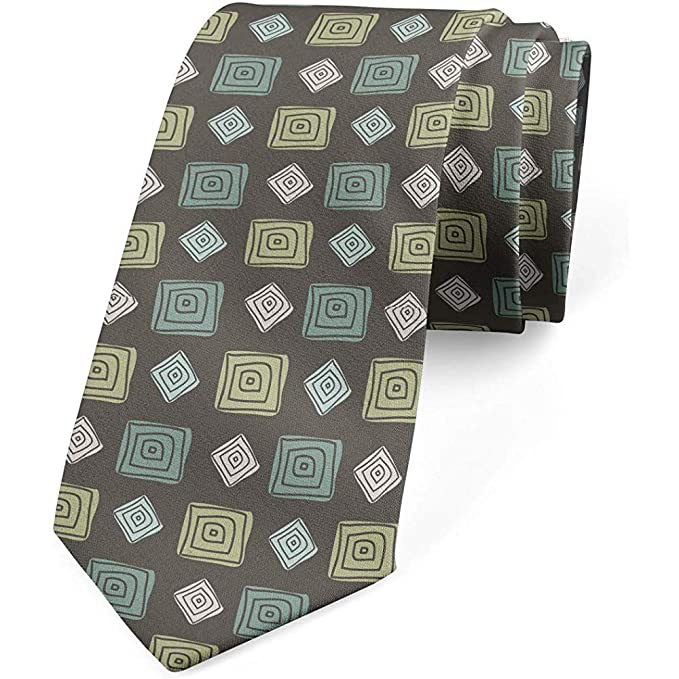 Corbata, lunares romanos clásico, verde oliva verde pálido: Amazon ...
