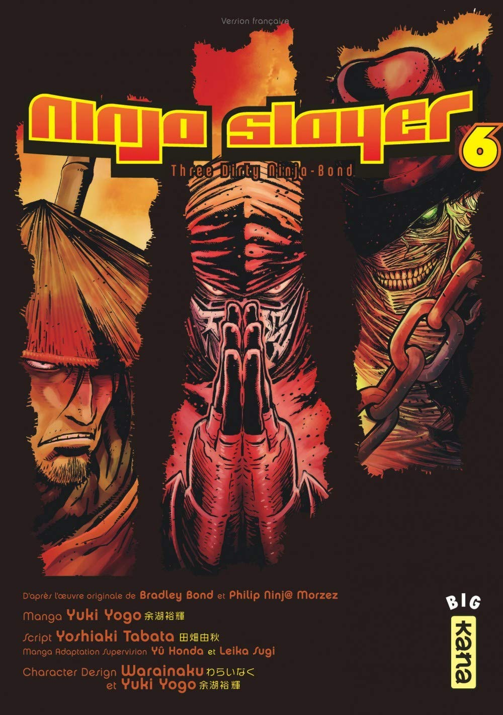 Ninja slayer, tome 6: Amazon.es: Yoshiaki Tabata, Yuki Yogo ...
