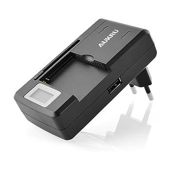 Aukru® Cargador Externo de baterias universal para Samsung Galaxy S i9000 / S2 / S3 S3 mini i8190 ,Galaxy Note N7000 ,Galaxy Note 4,ativ S, Samsung ...