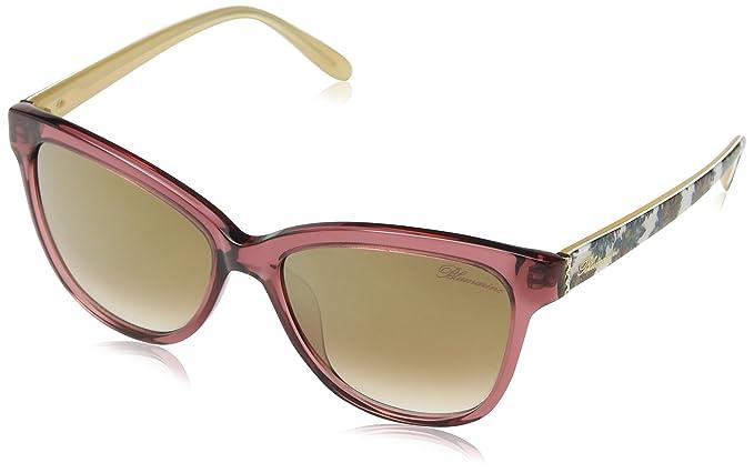 Bluemarine Sbm653T, gafas de sol para Mujer, Marrón (Shiny ...