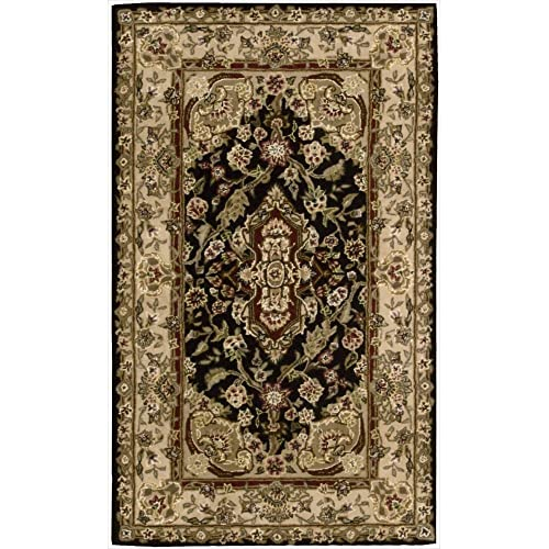 Nourison Nourison 2000 2028 Black Rectangle Area Rug, 2-Feet 6-Inches by 4-Feet 3-Inches 2 6 x 4 3