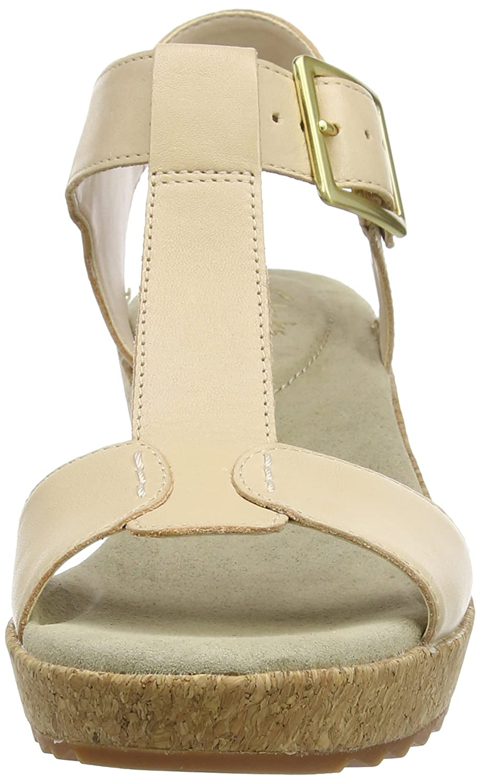 93d981d3184 Clarks Women s s Kamara Kiki Wedge Heels Sandals  Amazon.co.uk  Shoes   Bags