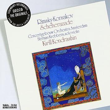 R.コルサコフ:シェエラザード、ボロディン:交響曲第2番