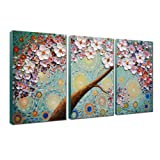 Amazon Price History for:V-inspire  Abstract Art,  20x30Inchx3 Paintings Oil Hand Painting 3D Hand-Painted On Canvas Abstract Artwork Art 3 Panels Wood Inside Framed Hanging Wall Decoration Abstract Painting