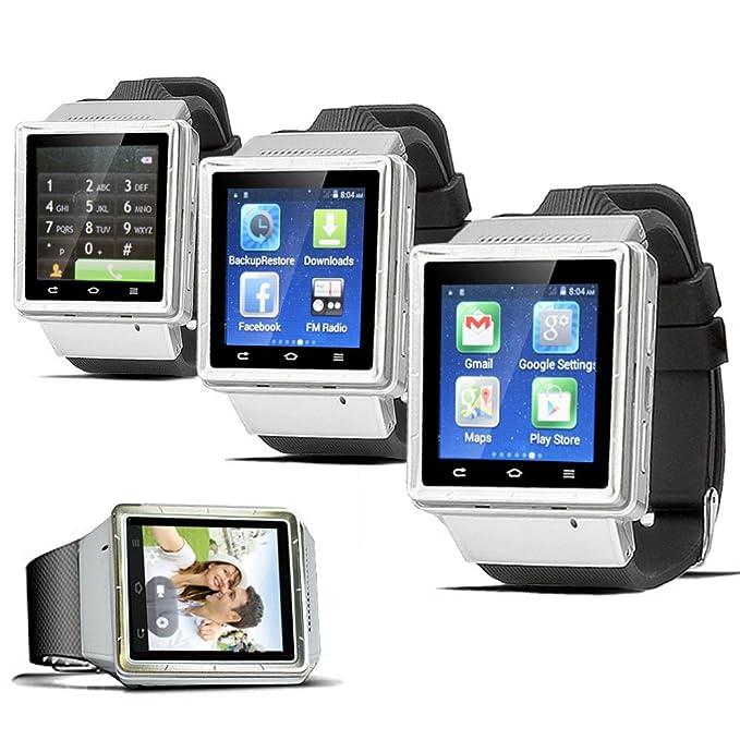 indigi® Desbloqueado. Android 4.4 Smart Reloj teléfono Celular gsm ...