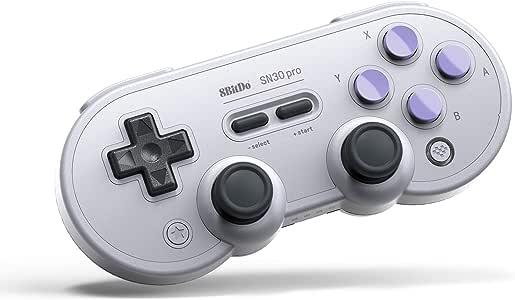 8Bitdo Sn30 Pro Bluetooth Gamepad (Sn Edition) - Nintendo Switch