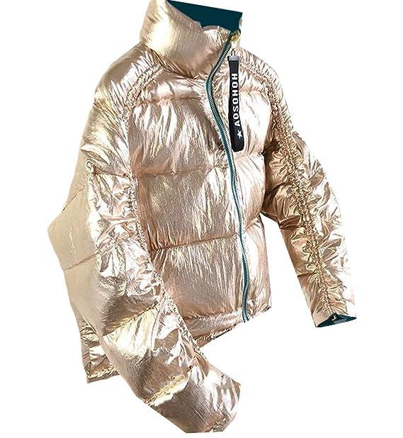 Amazon.com: JSY - Chaqueta de forro polar para mujer (cuello ...