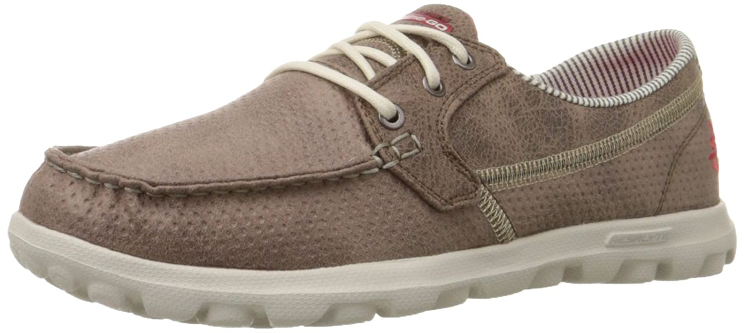 2f1fd480c1a4 Skechers Performance Women s On-The-Go Flagship Slip-On Boat Shoe Brown   Skechers  Amazon.ca  Shoes   Handbags