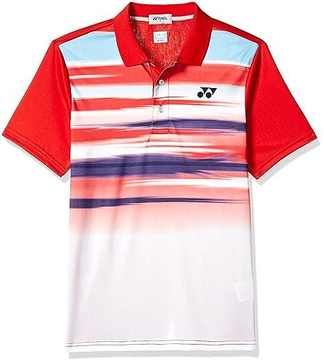 Buy 649 Yonex S T Polo Xxl At Shirt Red Online 26b16 Badminton e9YDHWE2I