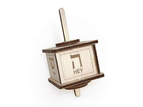 Amazon Com Lasercut Hanukkah Wooden Dreidel Kit Diy Dreidel Kit Handmade