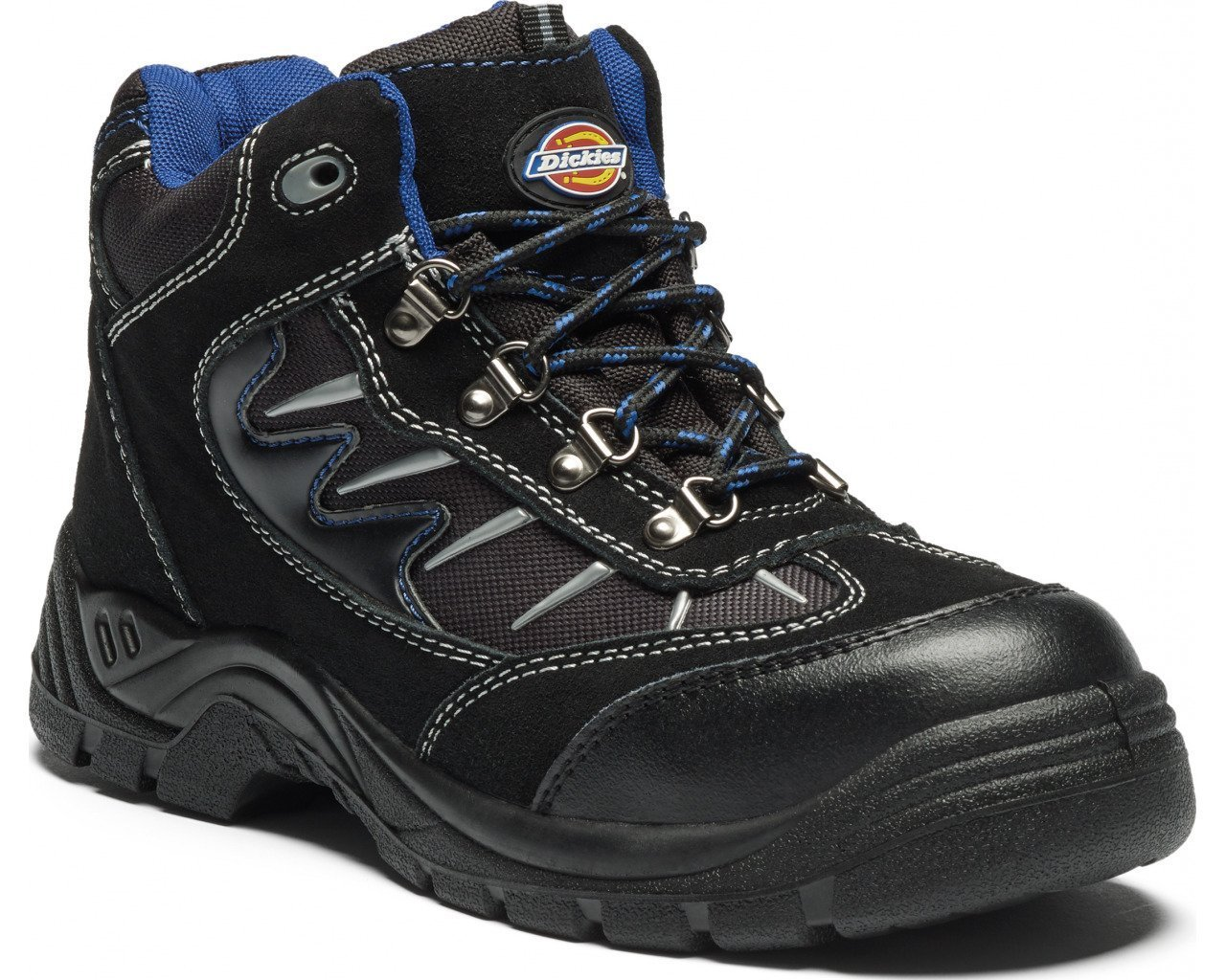 grey//black Gris Chaussure De S/écurit/é Montante Pour Homme Bout Et Semelle Interm/édiaire En Acier Col Chevi Dickies 42