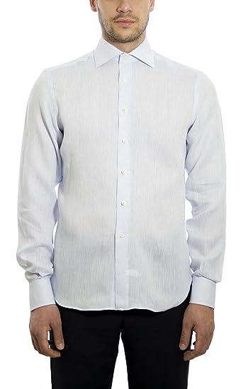 Dan Roma - Camisa formal - para hombre  Amazon.es  Ropa y accesorios fe58fd0351340