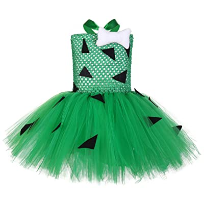 Tutu Dreams Pebbles Tutu Costume Dress for Girls 1-12Y Birthday Christmas Party Gifts: Clothing