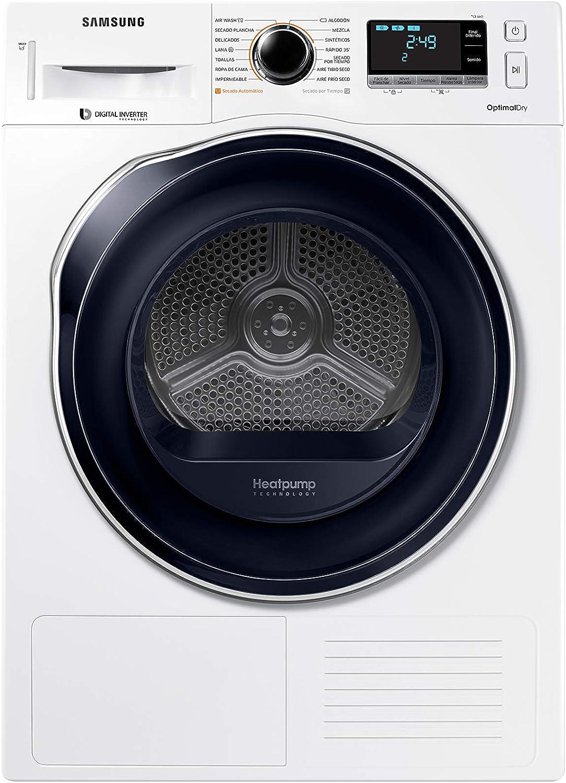 Samsung - Secadora Serie 6 8kg A+++ DV80M6210CW 85 x 60 x 60 cm