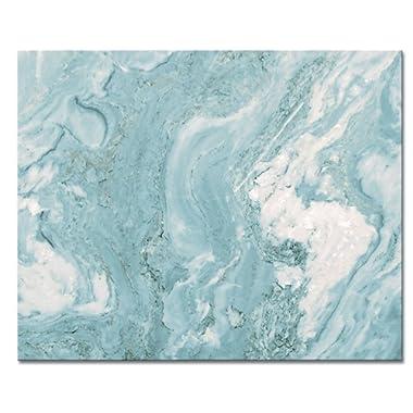 CounterArt 'Teal Quartz' Glass Cutting Board, 15 x 12