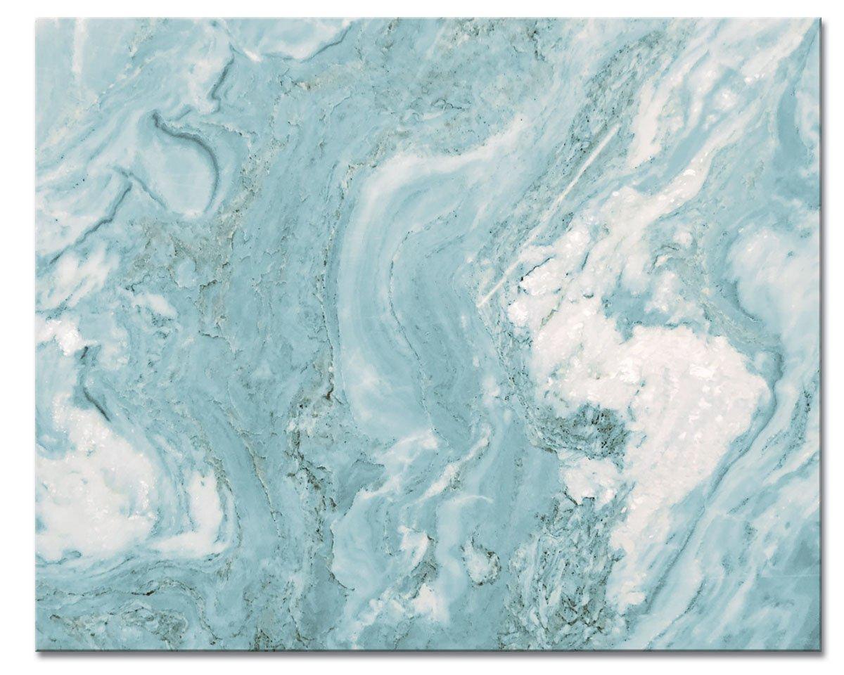 CounterArt 'Teal Quartz' Glass Cutting Board, 15 x 12'' by CounterArt