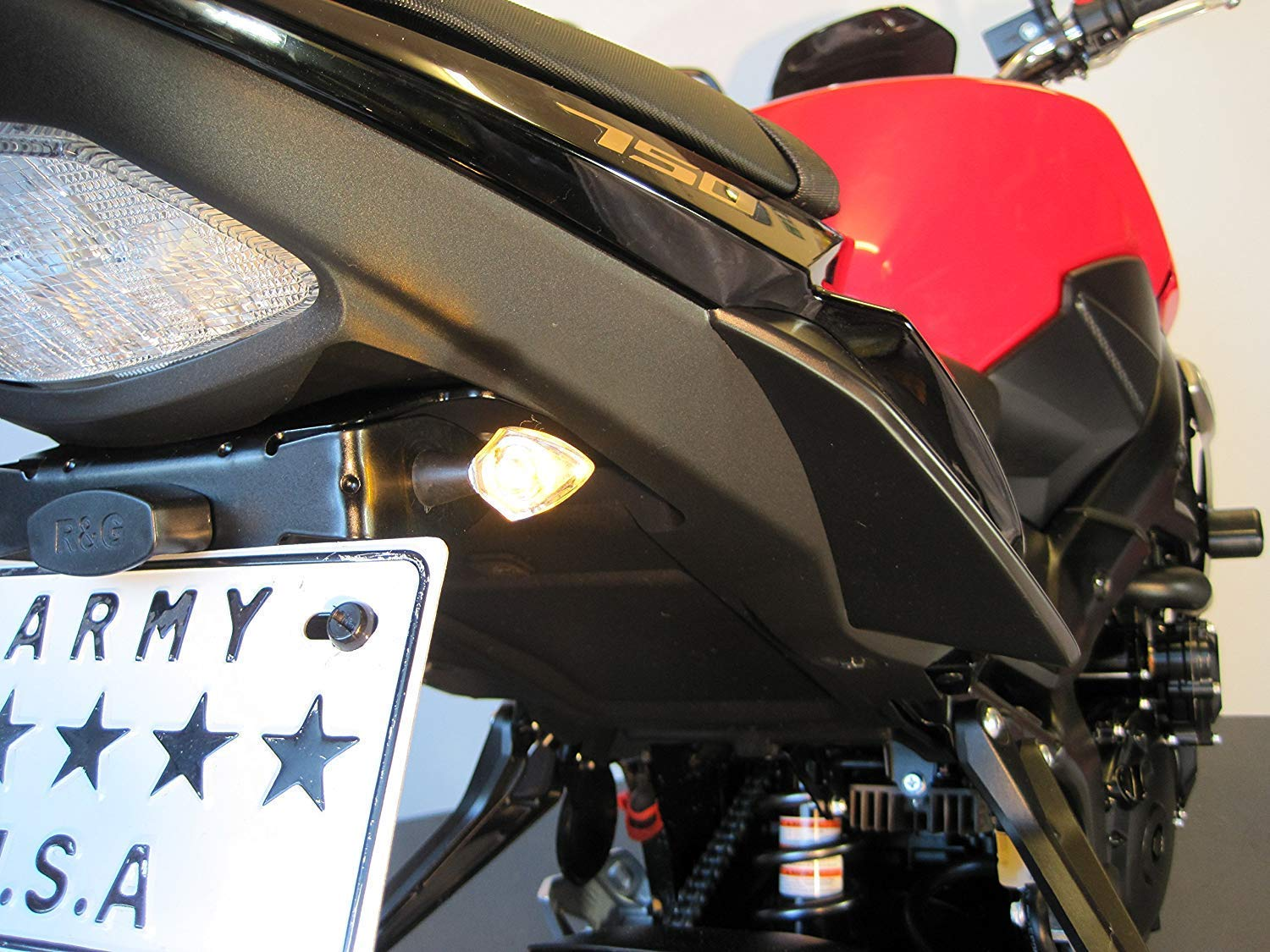 Motorbike LED Indicators with Built-in Resistors for Custom Retro Cafe Racer /& Streetfighter Project Bikes