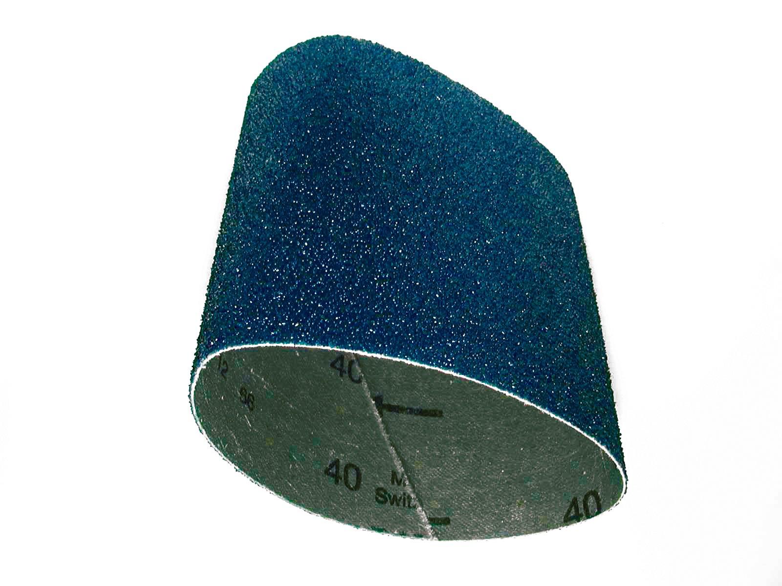 CS Unitec 42120 PTX Zirconium Grinding Belt Sleeve, 120 Grit, 3-1/2'' Diameter x 4'' Wide, (Pack of 10) by C.S. Unitec