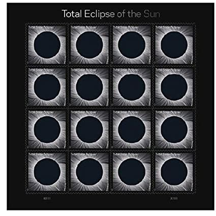 USPS Total Eclipse Of The Sun Forever Stamps Sheet 16