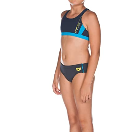 arena Chica Bikini Sprinter, niña, Bikini Sprinter, Navy/Turquoise, 128