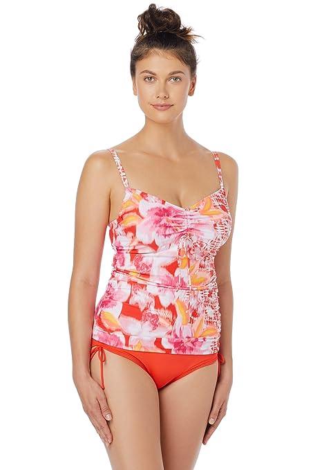 7ea433d8e8 Beach House Women's Bungalow Bay Border Classic Bra Tankini Top at Amazon  Women's Clothing store: