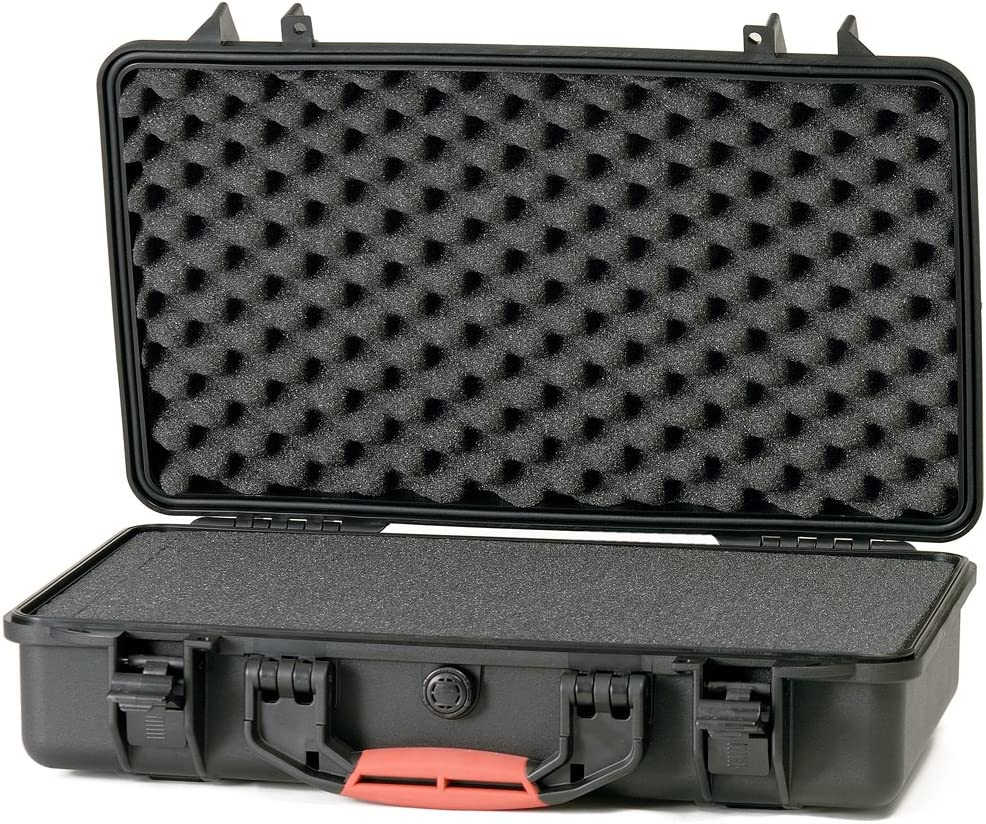 Black HPRC HPRC2530FBlack Hard Case with Cubed Foam for Cameras