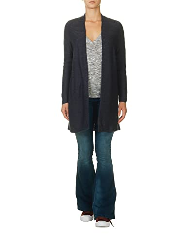 Only Onlkiev L/S Long Cardigan Knt, Chaqueta para Mujer