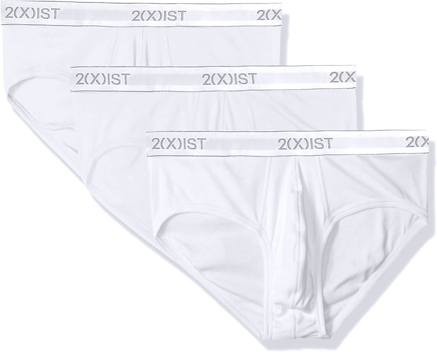 Shipping included 2 X IST Men's Essential No Brief Cotton Show 3-Pack Indianapolis Mall