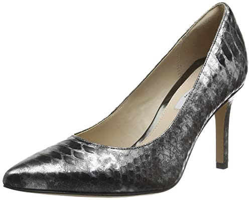 2aa6534f2c9 Clarks Dinah Keer - Silver Metallic Leather (See Description for Size)   Amazon.ca  Shoes   Handbags