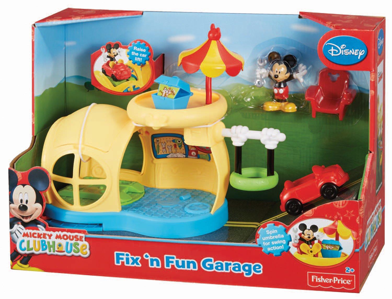 Garage Fisher Price : Fisher price garaje de mickey mattel bjp amazon spielzeug