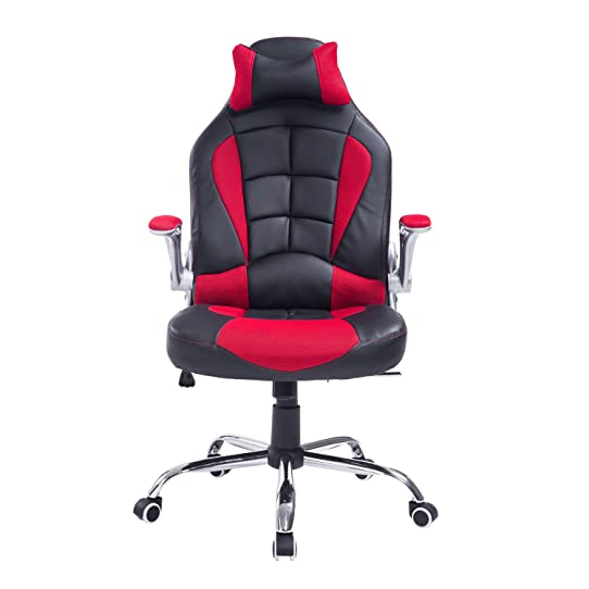 chaise de bureau Fauteuil gamer gaming course grand confort