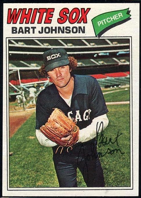 Baseball MLB 1977 Topps #177 Bart Johnson White Sox