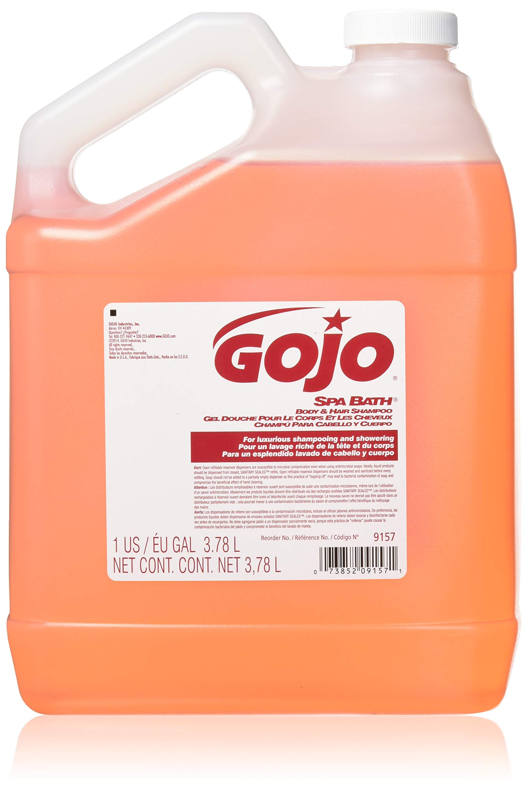GOJO 1 gal. Citrus, Floral Body and Hair Shampoo