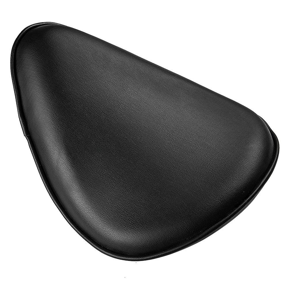 Black Solo Seat 3 Black Spring Mounting Bracket Kit For Harley Sportster 883