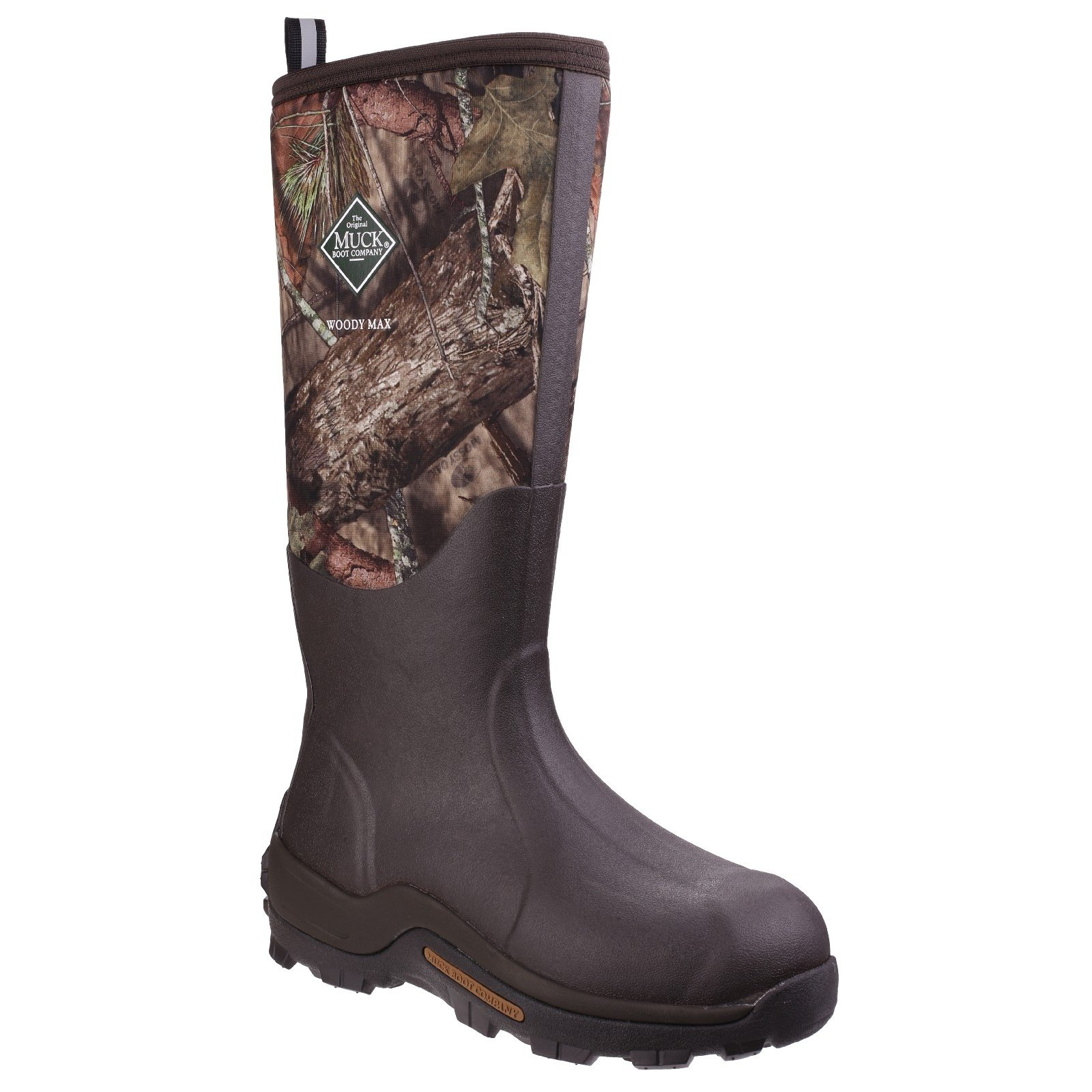 Muck Boots Unisex Woody Max Cold-Conditions Hunting Boot (9 M US/10 W US) (Mossy Oak Break-up Country)