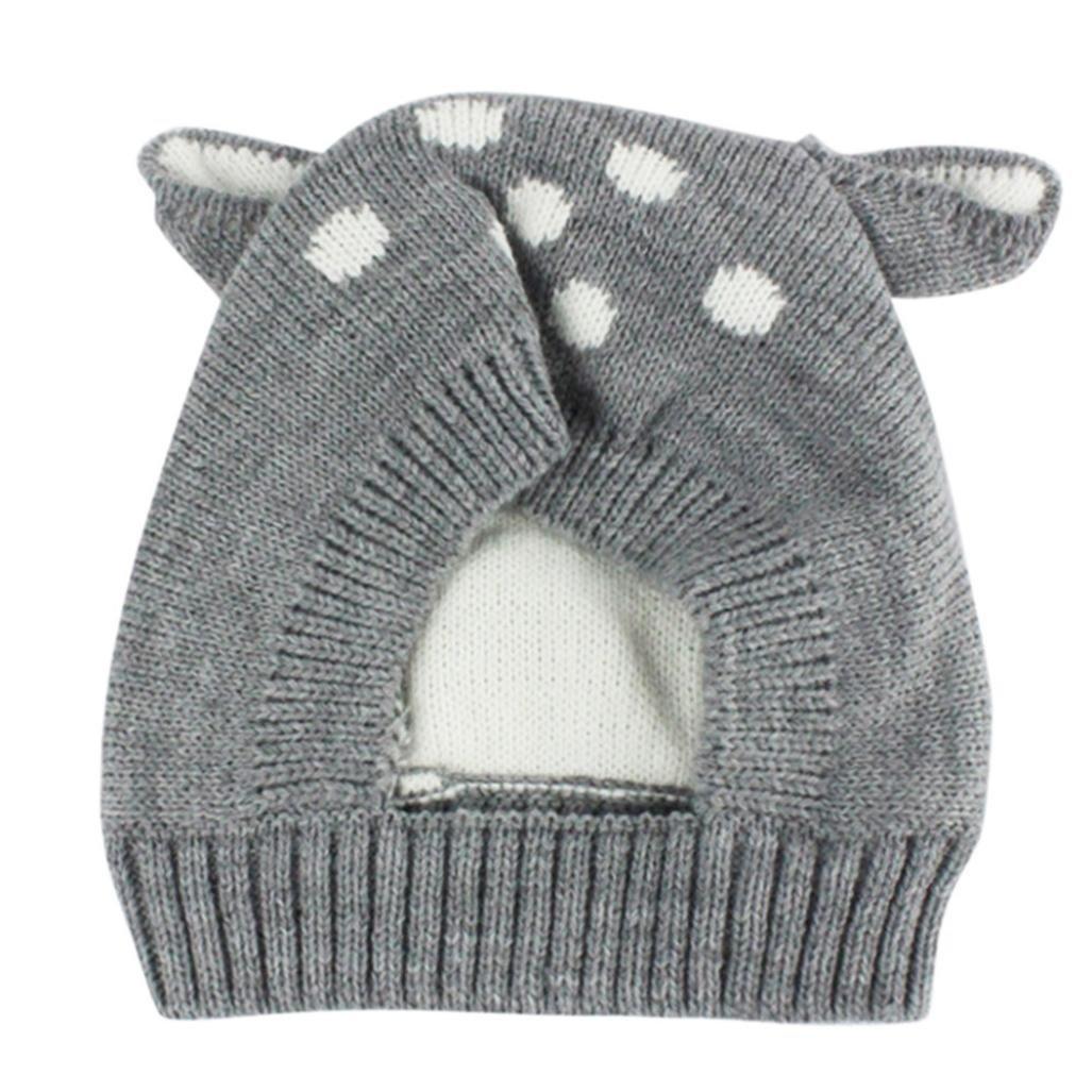 Boys Hats, SHOBDW Baby Girl Boy Fashion Warm Autumn Winter Cap Children Toddler Kids Hat Coffee) SHOBDW-043