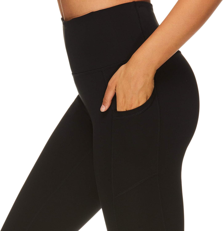 Performance Spandex Compression Legging Gaiam Womens Capri Yoga Pants