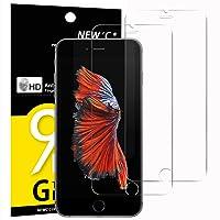 Panzerglas iPhone 6s, iPhone 6, iPhone 7, iPhone 8, [2 Stück] NEWC® Tempered Glass 9H Hartglas, Anti Öl, Kratzen und Fingerabdrücke Blasenfrei, HD Displayschutzfolie, 0.33mm HD Ultra-klar Schutzfolie für iPhone 7, 6s, 8, 6
