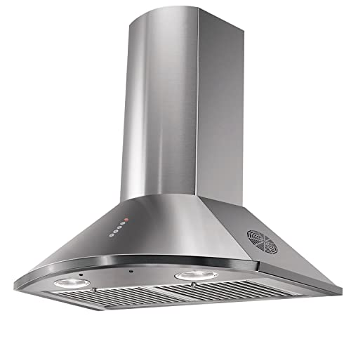 10. Faber 60cm 3 Way Silent Suction Chimney, 1295 m3/hr (TENDER 3D Max T2S2, 2 Triple Layer Baffle Filters, Steel/Grey)