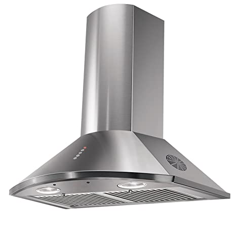 Faber 60cm 1295 m3/hr Chimney (HOOD TENDER 3D Max, 2 Triple Layer Baffle  Filters, Steel/Grey)
