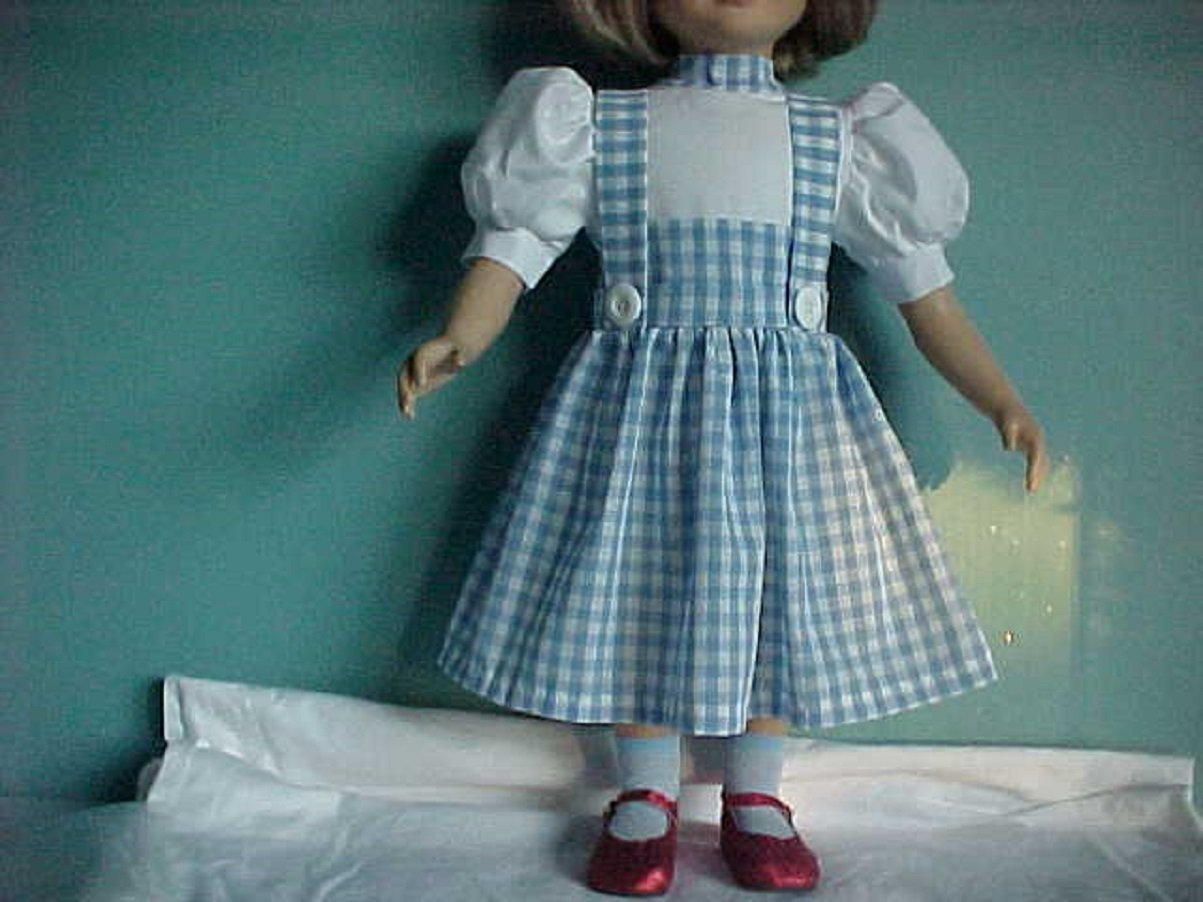 Handmade! Dorothy from the Wizard of Oz Dress fits 23 My Twinn