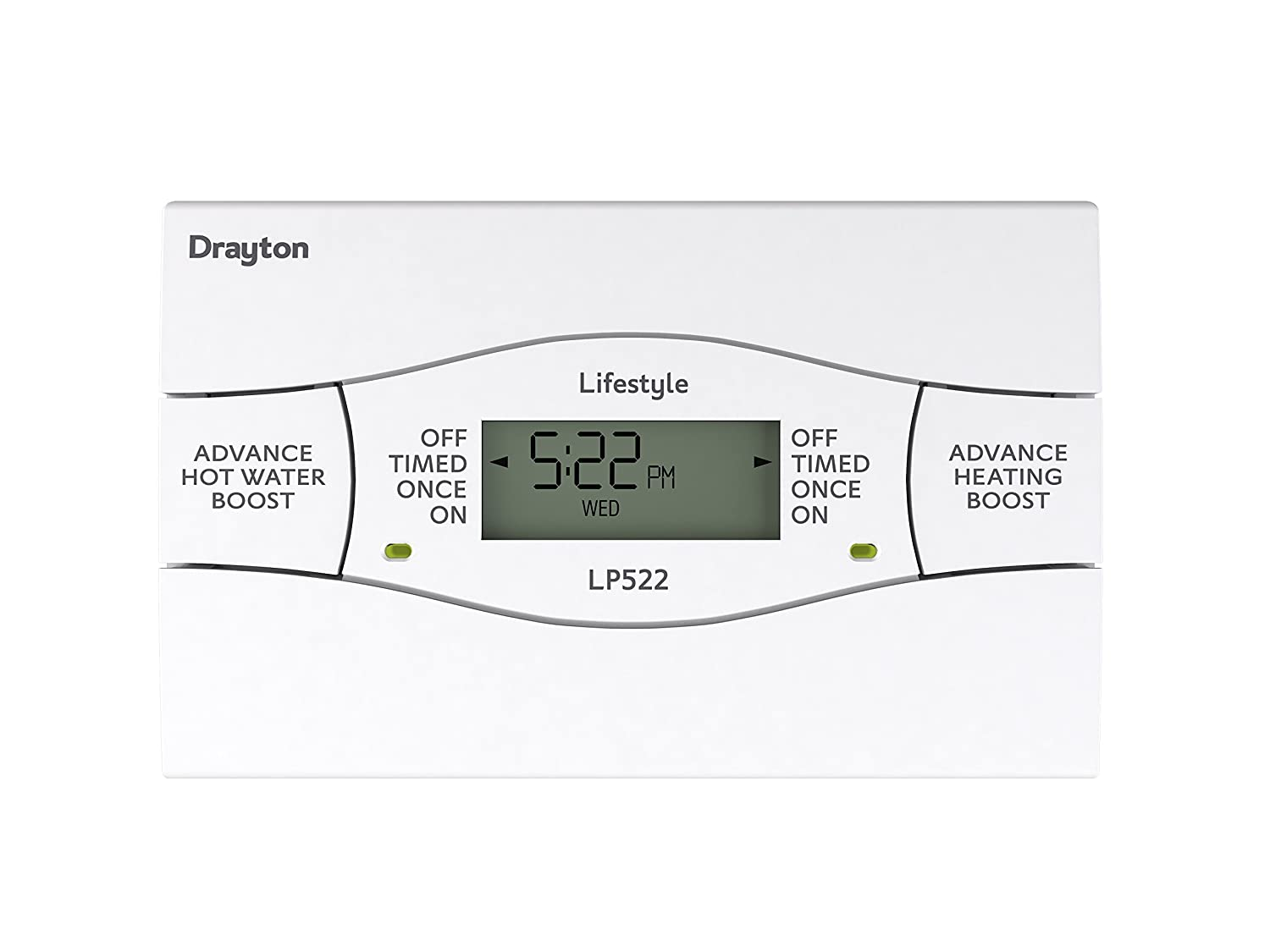 Drayton LP522 LP522 5/2 Day Heating and Hot Water Programmer Channel 123070