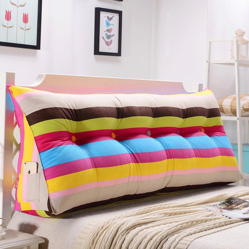 GXY Doppel-Taillenbett Kopfteil Softpack Tatami Bett Kissen Kissen (Farbe : U, größe : 120cm)