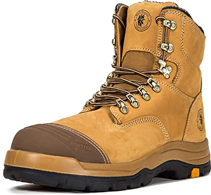 Boots Mens Breathable Work Boots Steel